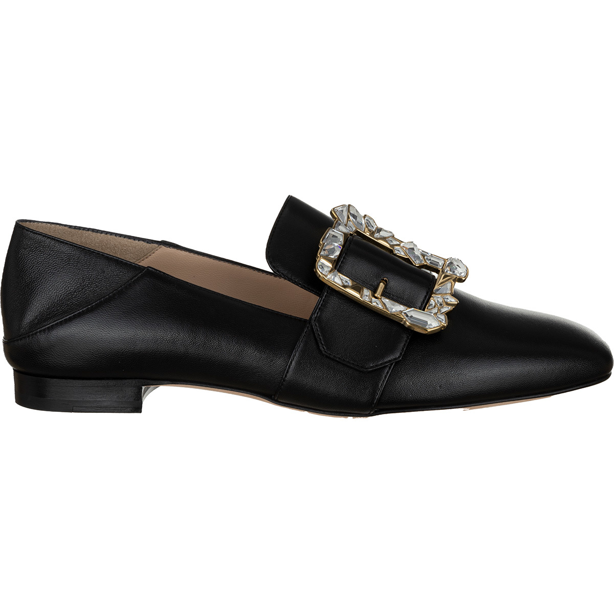 leather mocassin