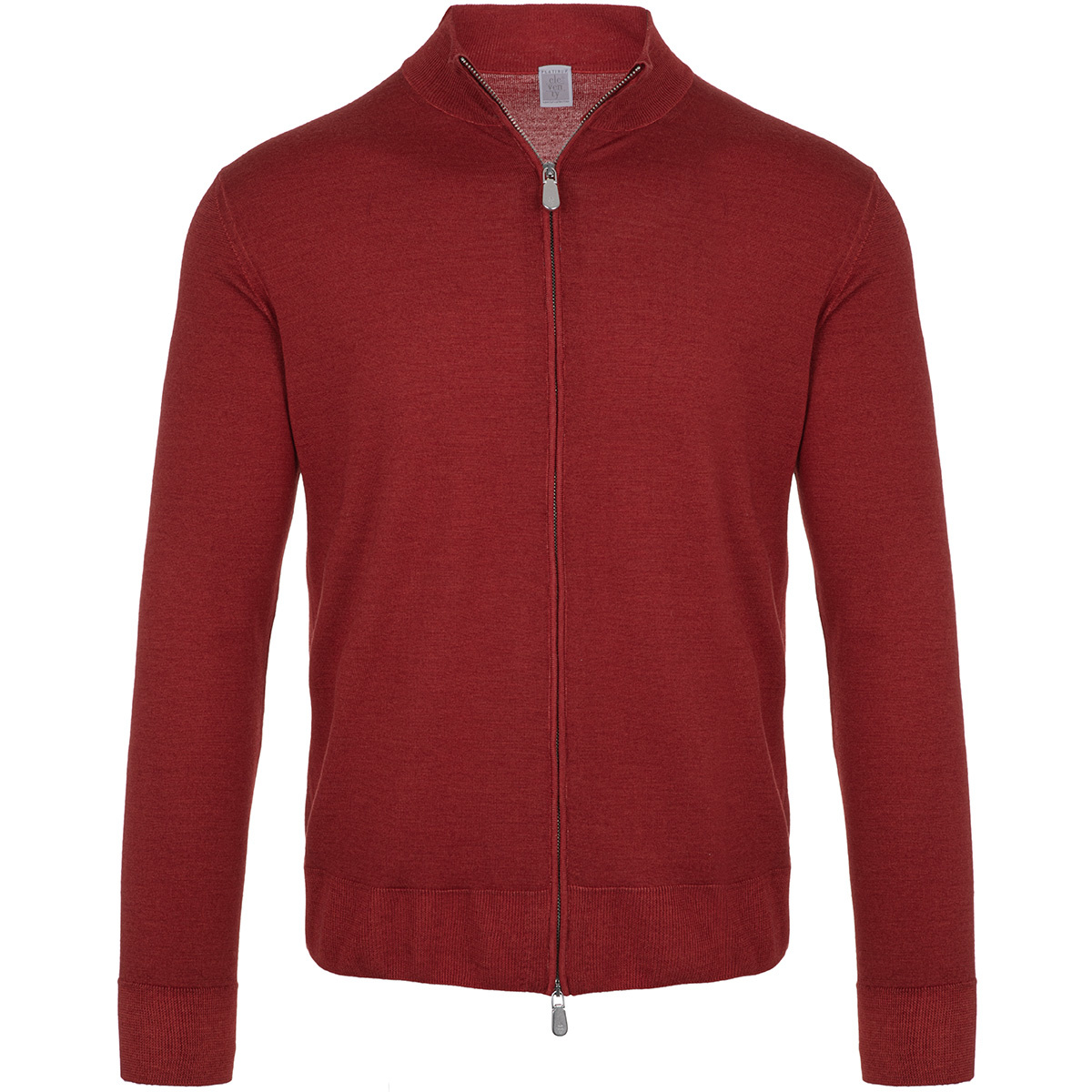 full zip collo alto