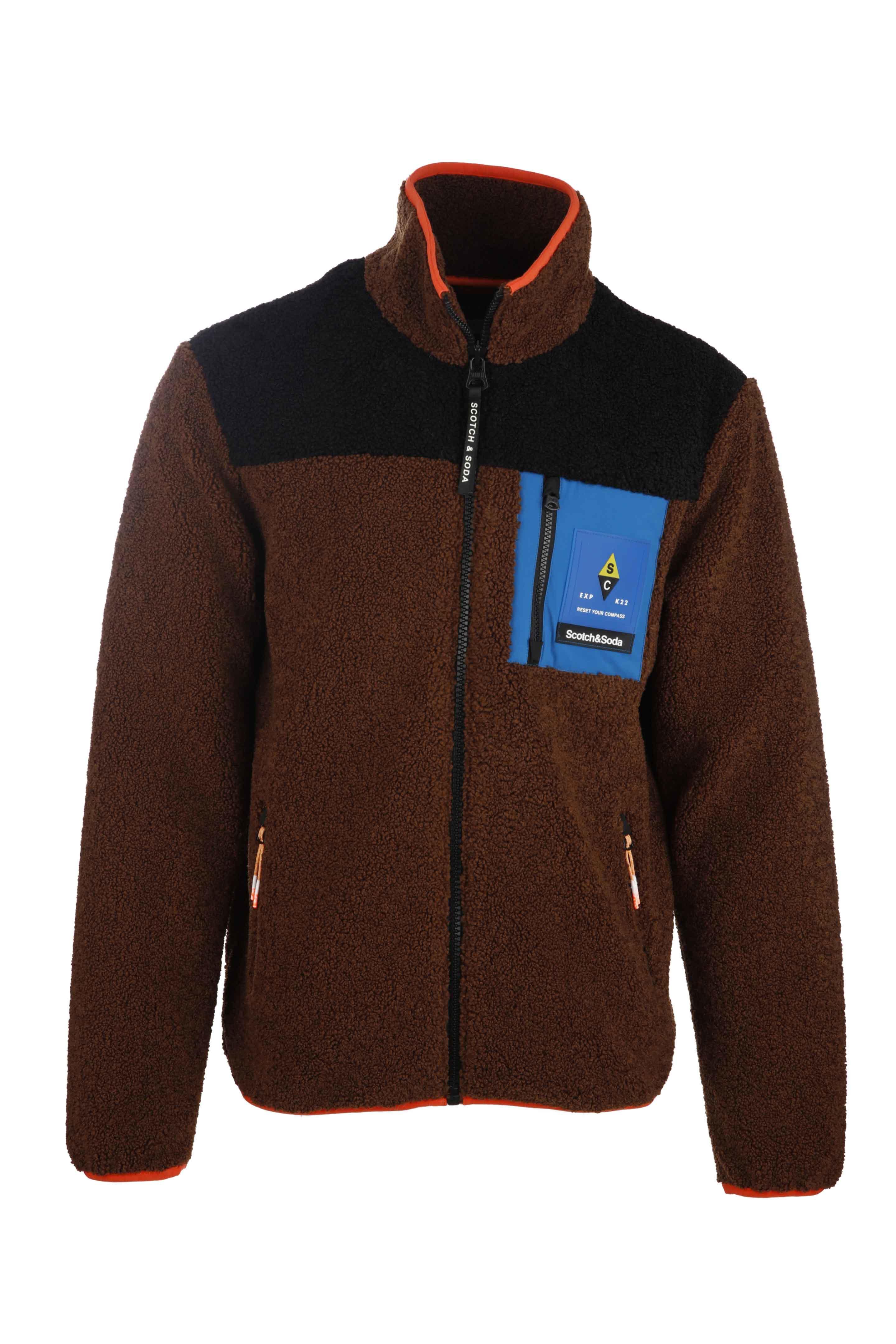 Colourblock Jacket