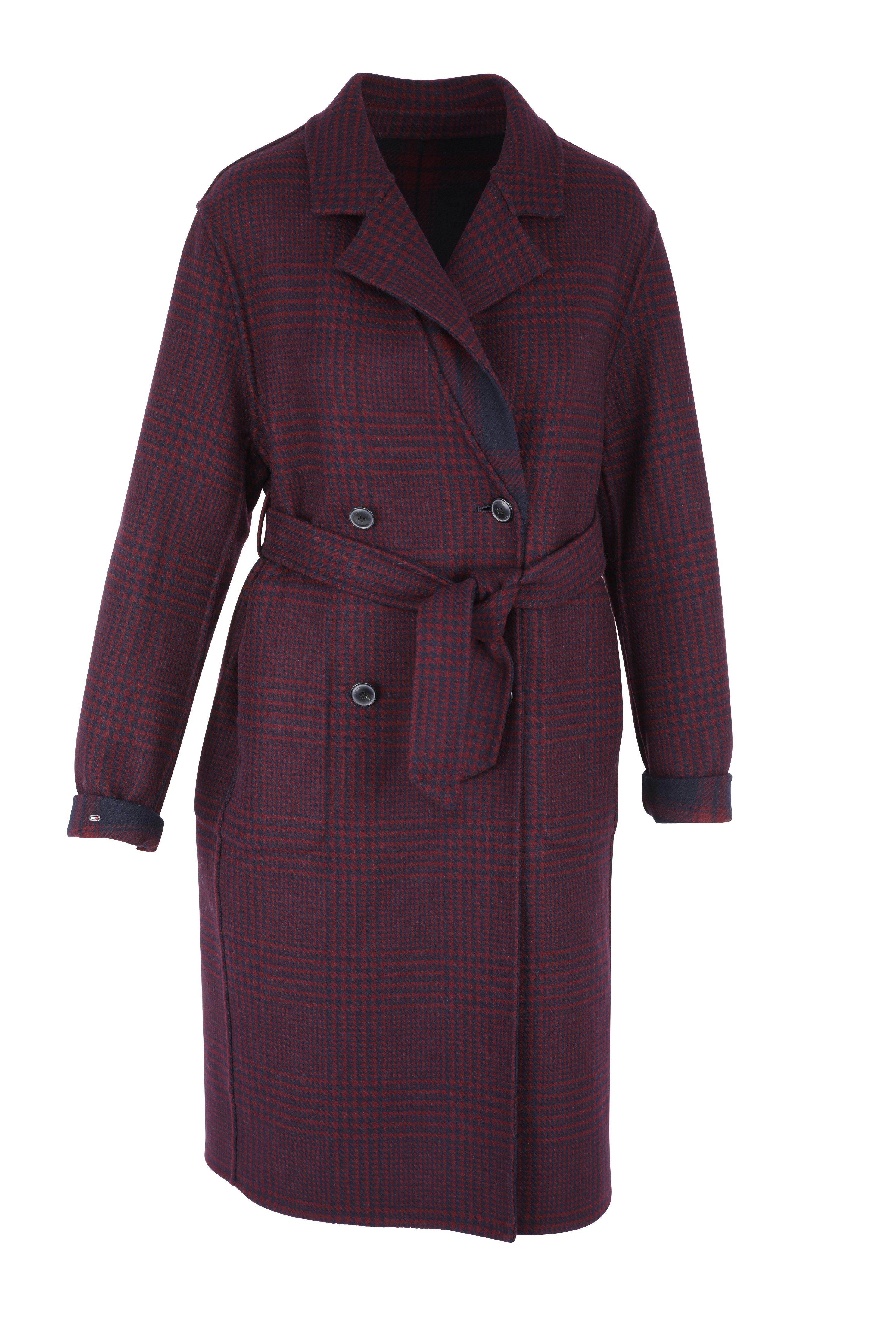 heavy weigth wool blend coat