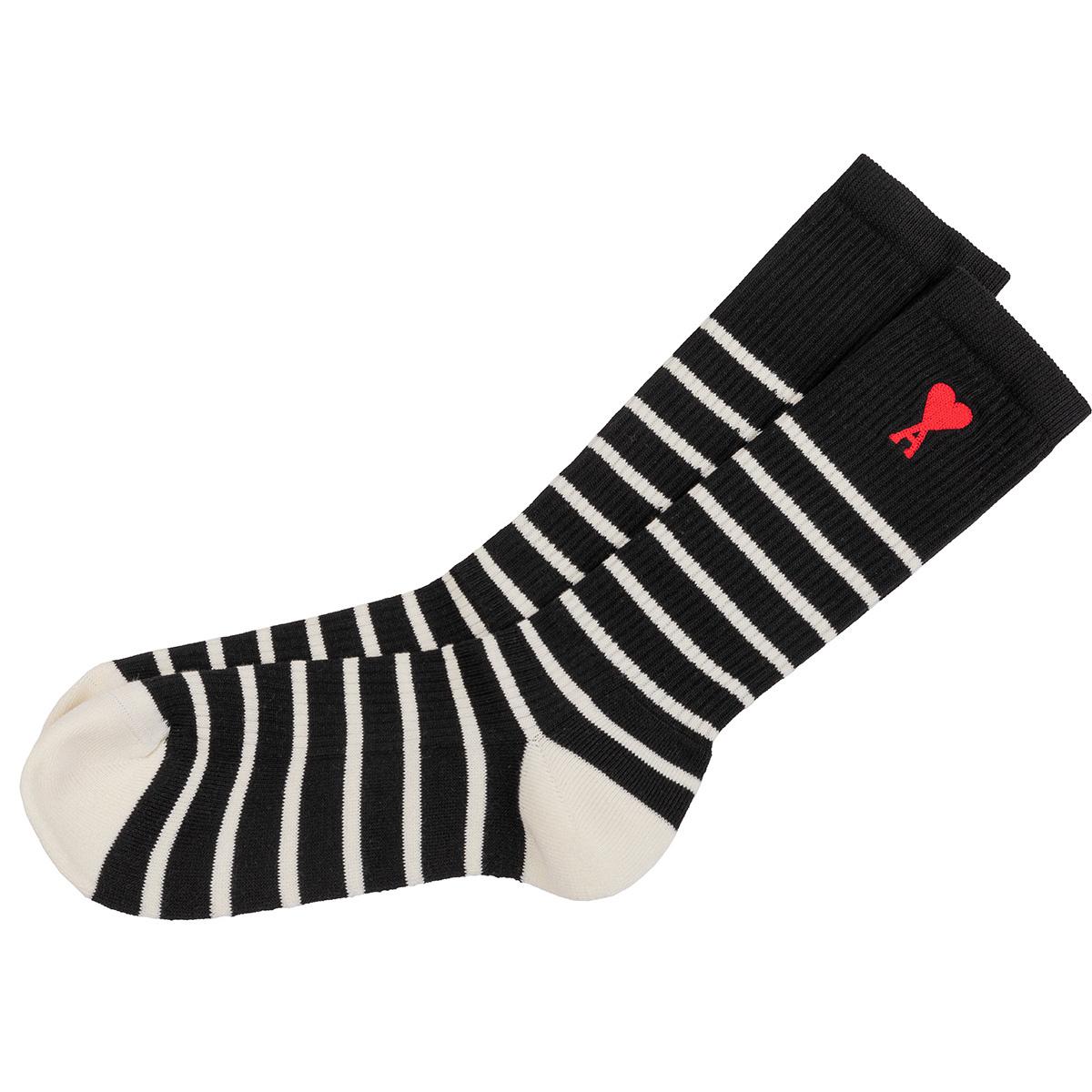 striped adc socks